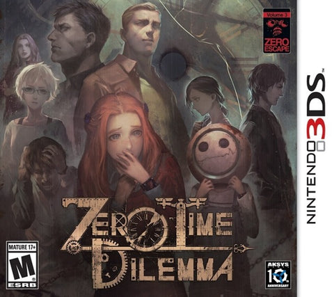 Zero Escape: Zero Time Dilemma - Nintendo 3DS [USED]