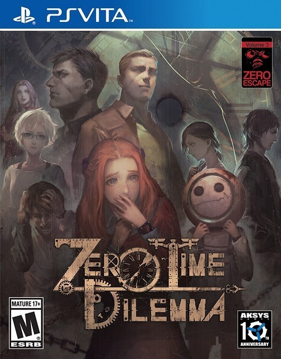Zero Escape: Zero Time Dilemma - PS Vita