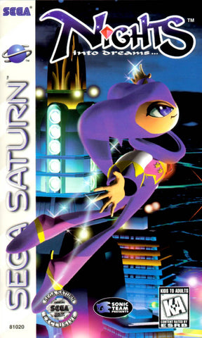 NiGHTS Into Dreams... - SEGA Saturn [NEW]