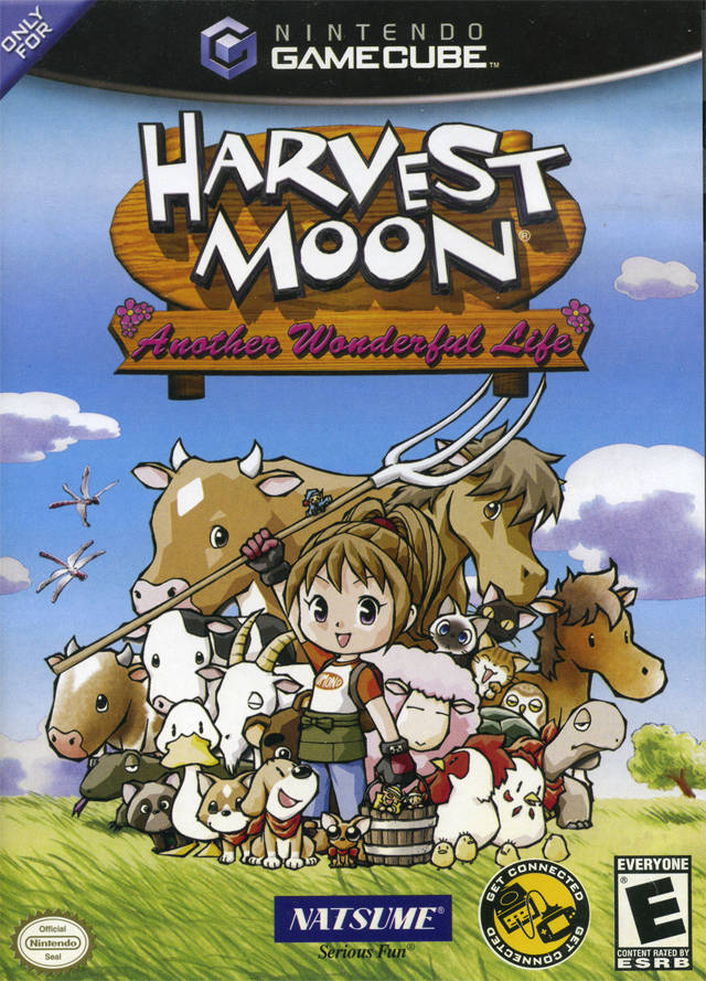 Harvest Moon: Another Wonderful Life - GameCube [USED]