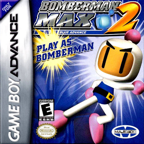 Bomberman Max 2: Blue Advance - Game Boy Advance [USED]