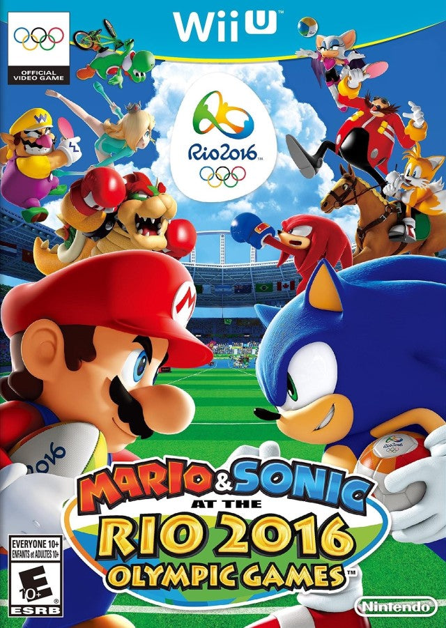 Mario & Sonic at the Rio 2016 Olympic Games - Nintendo Wii U [USED]