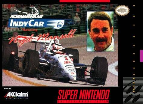 Newman/Haas Indy Car featuring Nigel Mansell - Super Nintendo [USED]