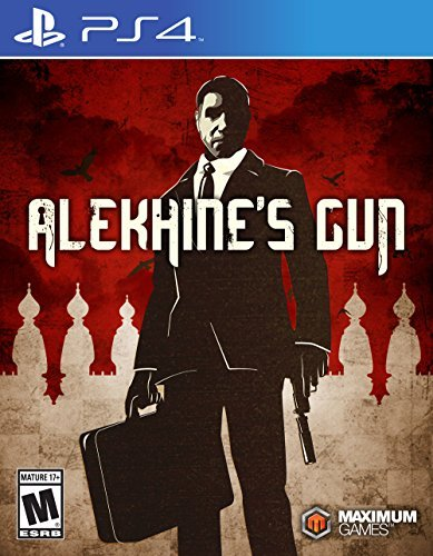 Alekhine's Gun - PlayStation 4 Front Cover