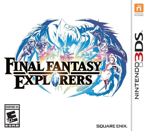 Final Fantasy Explorers - Nintendo 3DS [USED]