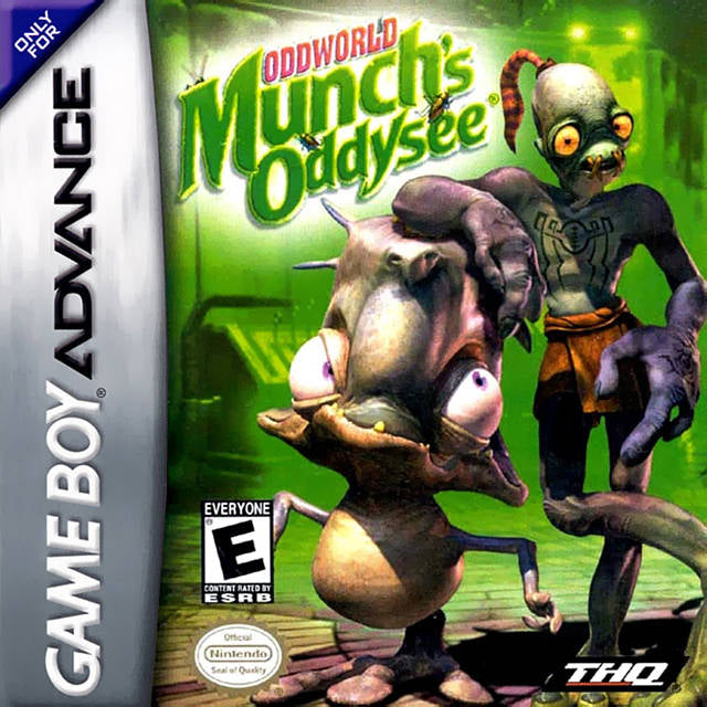 Oddworld: Munch's Oddysee - Game Boy Advance