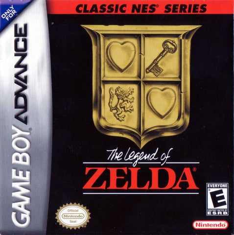 Classic NES Series: The Legend of Zelda - Game Boy Advance [USED]
