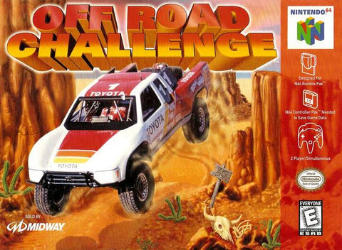 Off Road Challenge - Nintendo 64 [USED]