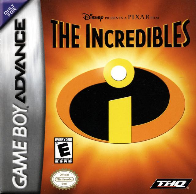 The Incredibles - Game Boy Advance
