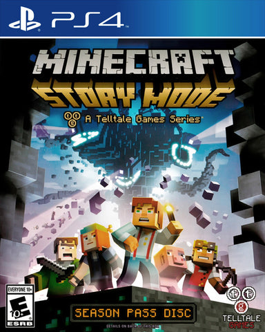 Minecraft: Story Mode - A Telltale Games Series - Season Pass Disc - PlayStation 4