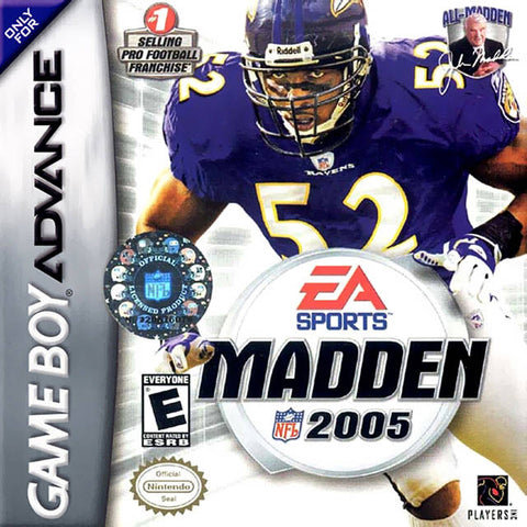 Madden NFL 2005 - Game Boy Advance [USED]