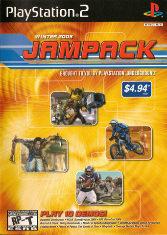 Jampack Winter 2003 - PlayStation 2