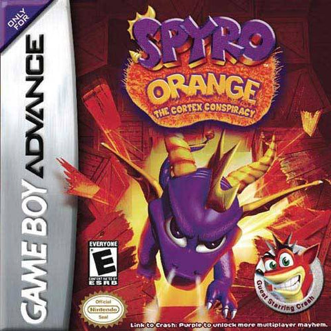 Spyro Orange: The Cortex Conspiracy - Game Boy Advance [USED]