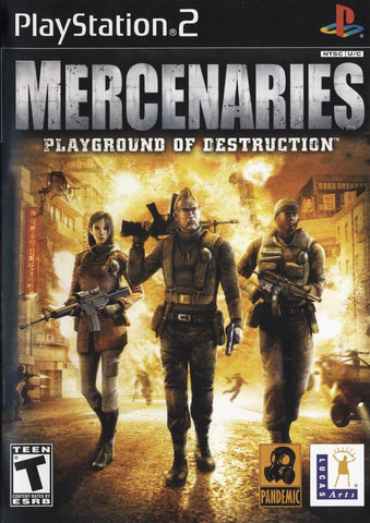 Mercenaries: Playground of Destruction - PlayStation 2
