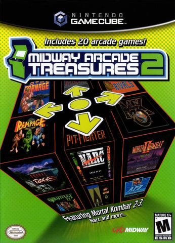 Midway Arcade Treasures 2 - GameCube [NEW]