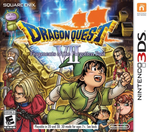 Dragon Quest VII: Fragments of the Forgotten Past - Nintendo 3DS [NEW]