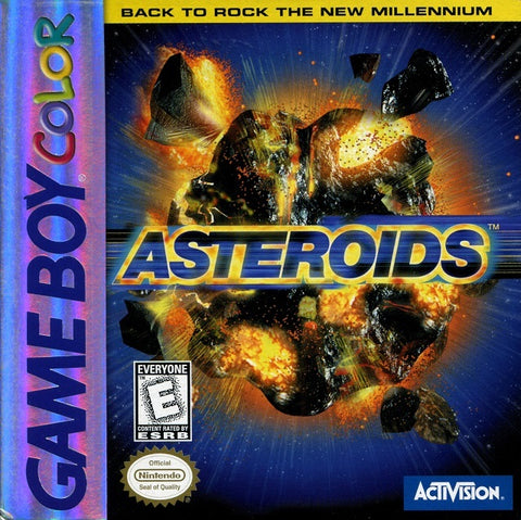 Asteroids - Game Boy Color [USED]