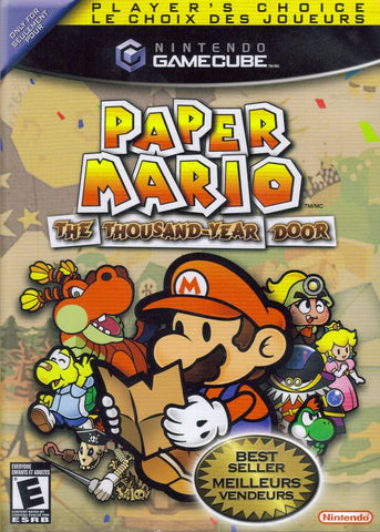 Paper Mario: The Thousand-Year Door (Player's Choice) - GameCube Pre-Owned