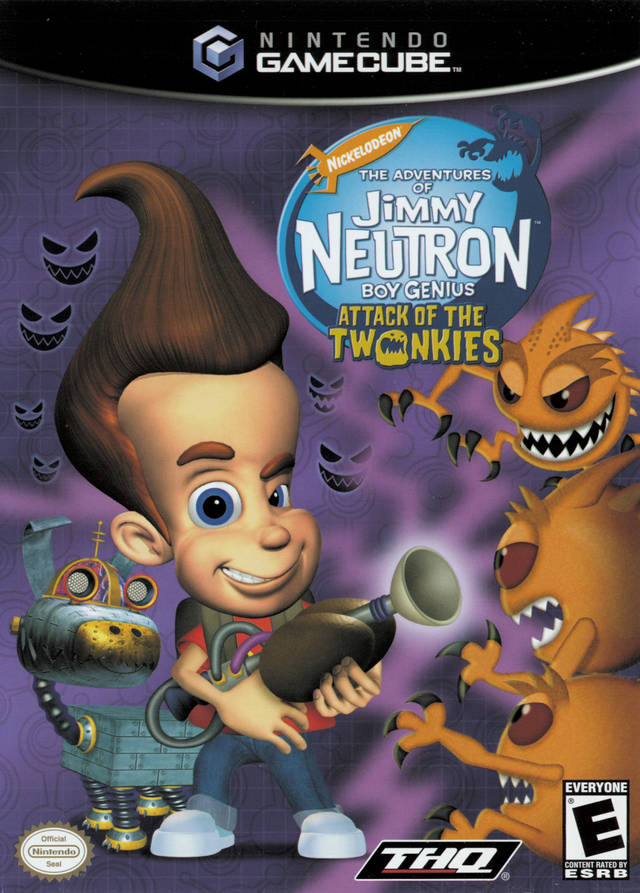 The Adventures of Jimmy Neutron Boy Genius: Attack of the Twonkies - GameCube [USED]
