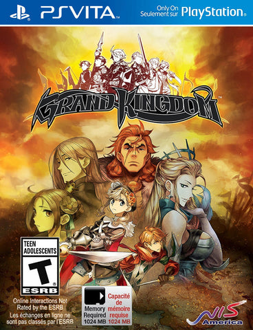 Grand Kingdom - PS Vita