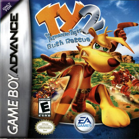 Ty the Tasmanian Tiger 2: Bush Rescue - Game Boy Advance [USED]