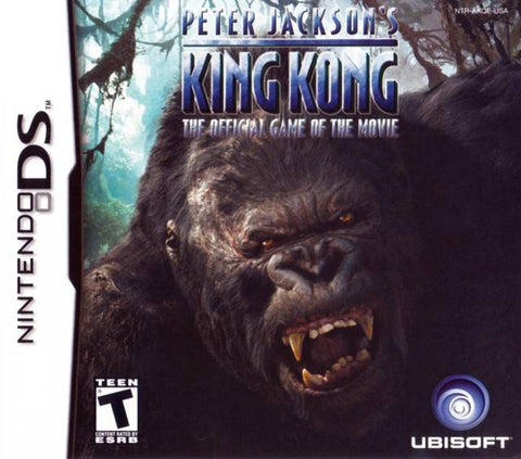 Peter Jackson's King Kong: The Official Game of the Movie - Nintendo DS