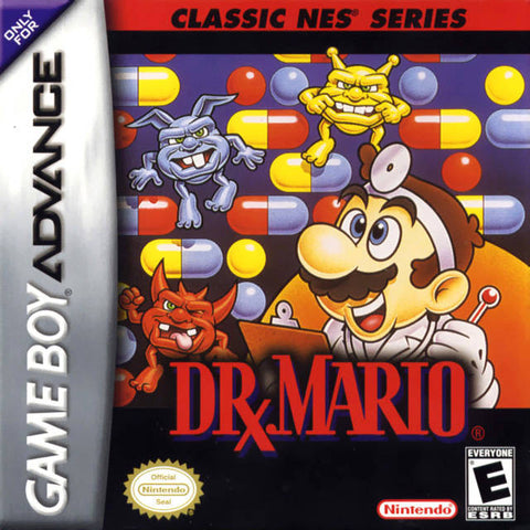 Classic NES Series: Dr. Mario - Game Boy Advance [NEW]