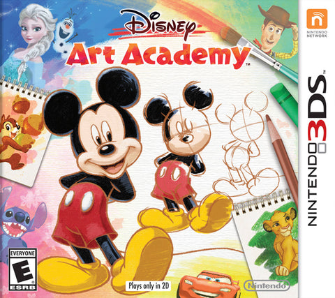 Disney Art Academy - Nintendo 3DS [NEW]
