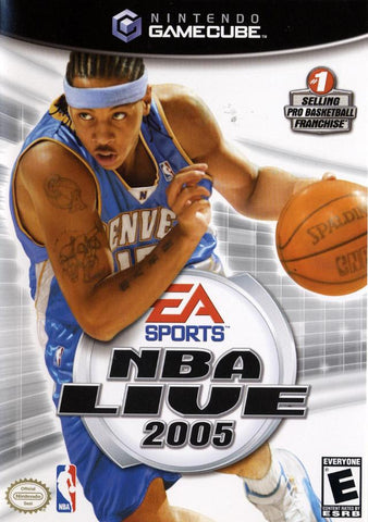 NBA Live 2005 - GameCube [USED]