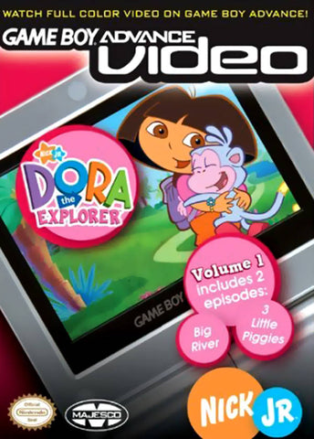 Game Boy Advance Video: Dora The Explorer - Volume 1 - Game Boy Advance [USED]
