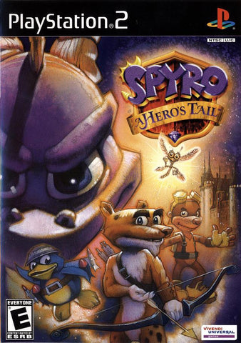 Spyro: A Hero's Tail - PlayStation 2