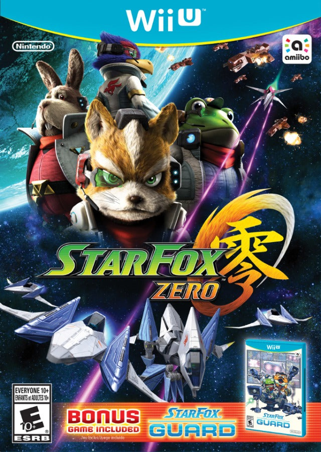 Star Fox Zero + Star Fox Guard - Nintendo Wii U [NEW]