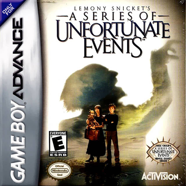 Lemony Snicket's A Series of Unfortunate Events - Game Boy Advance