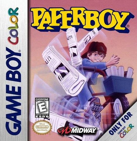Paperboy - Game Boy Color [USED]