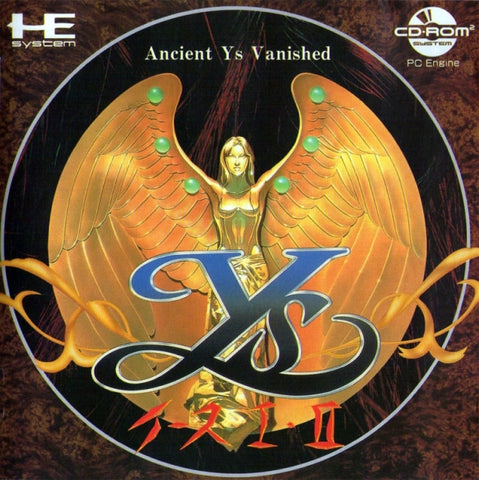 Ys I + II (Taikenban) - Turbo CD (Japan)