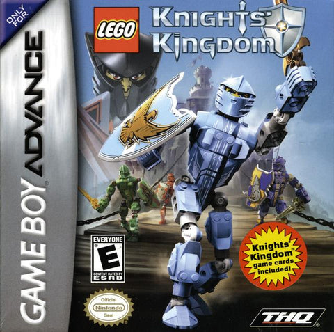LEGO Knights' Kingdom - Game Boy Advance [USED]