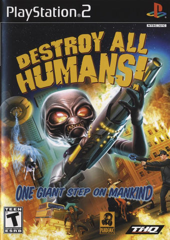 Destroy All Humans! - PlayStation 2