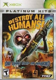 Destroy All Humans! (Platinum Hits) - Xbox
