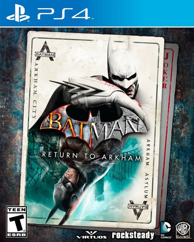 Batman: Return to Arkham - PlayStation 4 Box Cover