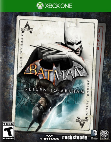 Batman: Return to Arkham - Xbox OneBatman: Return to Arkham - Xbox One Box Cover