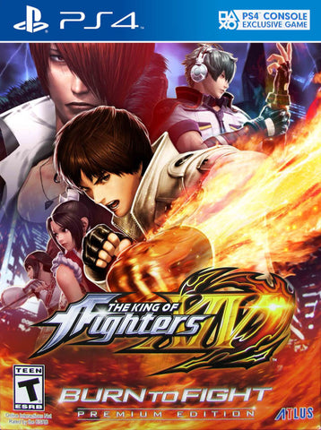 The King of Fighters XIV (Premium Edition) - PlayStation 4