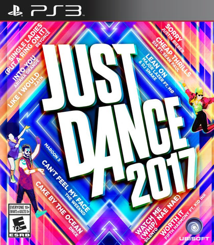Just Dance 2017 - PlayStation 3 (Rhythm, 2016, US)