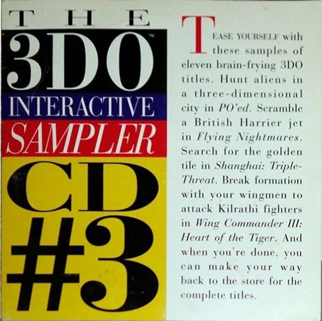 3DO Interactive Sampler 3 - 3DO