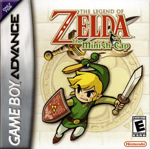 The Legend of Zelda: The Minish Cap - Game Boy Advance [USED]