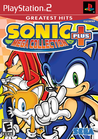Sonic Mega Collection Plus (Greatest Hits) - PlayStation 2