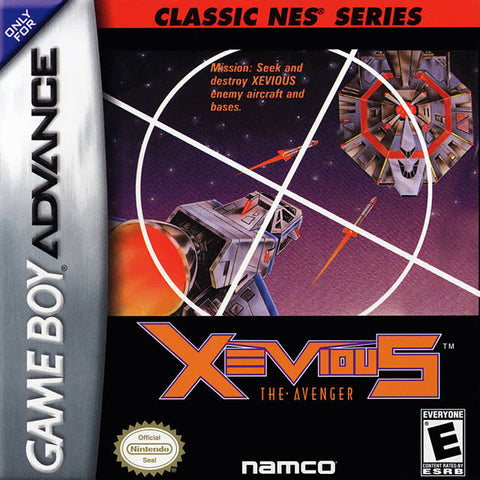 Classic NES Series: Xevious - Game Boy Advance [NEW]