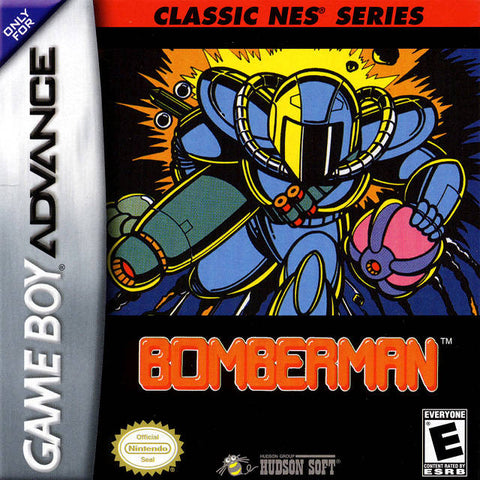 Classic NES Series: Bomberman - Game Boy Advance [NEW]