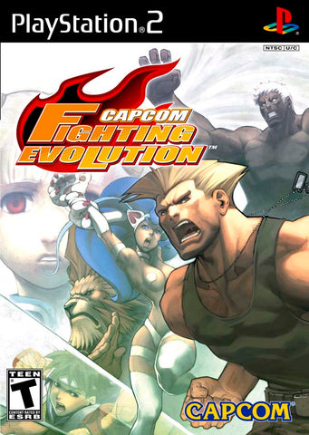 Capcom Fighting Evolution - PlayStation 2