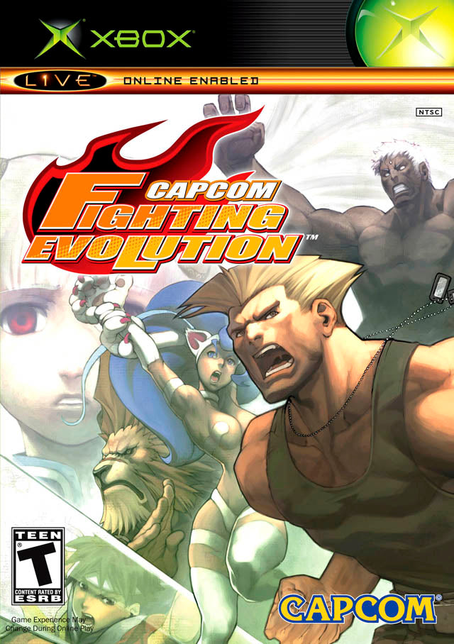 Capcom Fighting Evolution - Xbox