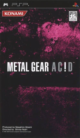 Metal Gear Acid - PSP (Japan)